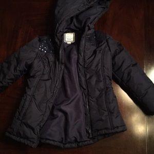 Gymboree Navy Puffer Jacket